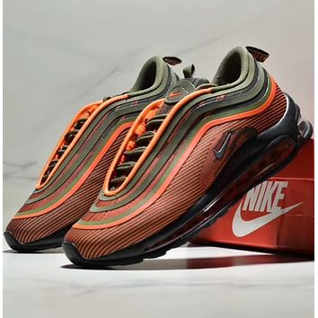 NIKE AIR MAX 97 Bullet full palm air-cushioned running shoes