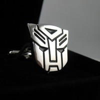 Transformer Cufflinks- Autobot Optimus Prime,  with a Gift Box