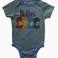 Rowdy Sprout Beatles Onesuit