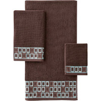 Walmart: Better Homes and Gardens Gridlock Decorative Bath Towel Collection