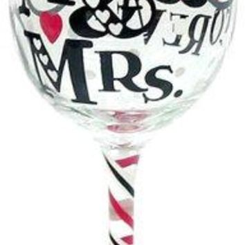 Top Shelf Decorative Always amp Forever Wine Glass Unique Gift Idea for Engagements Bridal Showers and Weddings  Romantic Gifts for Bride Groom Husband and Wife