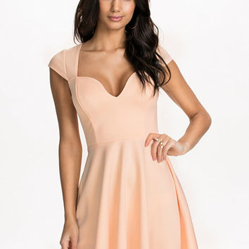 Deep Drop Skater Dress, NLY One