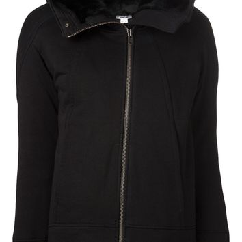Helmut Lang hooded coat