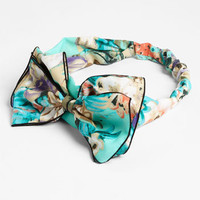 Cara 'Big Time' Bow Head Wrap | Nordstrom
