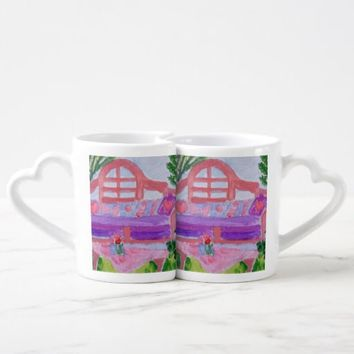 Spring Garden Coffee Mug Set