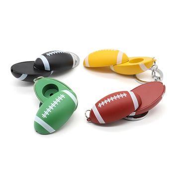 New Football Shaped Smoking Pipe Metal Pipes For Smoking Weed Cachimbo Tobacco Pipe Smoking Weed Accessories