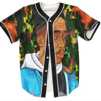 Trippy Tupac Jersey