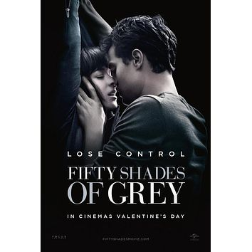 Fifty Shades Of Grey 50 Fifty Shades Movie Poster Standup 4inx6in