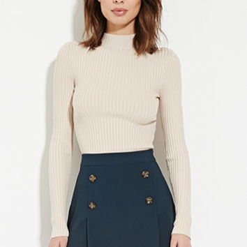 Contemporary Buttoned Skirt