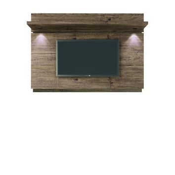 Manhattan Comfort Park 1.8 Floating Wall TV Panel with LED Lights