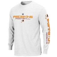 Washington Redskins Big & Tall Primary Receiver III Long Sleeve T-Shirt – White