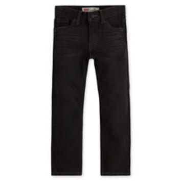 Boys' Levi's Little Boy's (4-7x) Slim Fit Knit Jeans - Greenwich - Kids