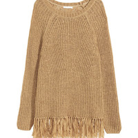 Sweater with Fringe - from H&M