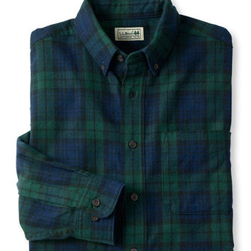 Men's Scotch Plaid Flannel Shirt, Slightly Fitted | Free Shipping at L.L.Bean.