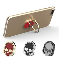 📱💀 Skull Cell Phone Ring Bracket