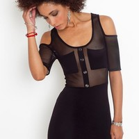 Detention Mesh Dress in  Clothes at Nasty Gal