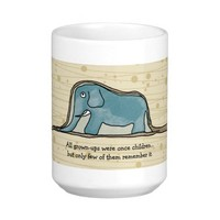 The Little Prince Elephant inside Boa Constrictor Coffee Mug from Zazzle.com