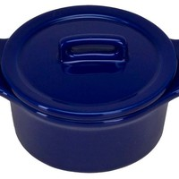 One Kings Lane - Cook in Color - S/4 Mini Round Bakers, Cobalt Blue