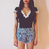 Dreamy Daze Pom Pom Shorts