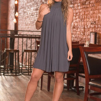 Dreamy Delight Dress, Gray