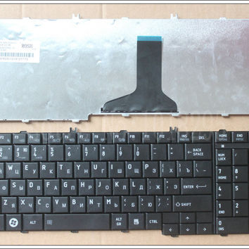 NEW Russian laptop Keyboard for Toshiba Satellite L655 L655D C655 C655D C660 C660D C650D L650 L650D L755  RU Keyboard black