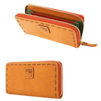 Dooney & Bourke Florentine Large Zip Around Wallet