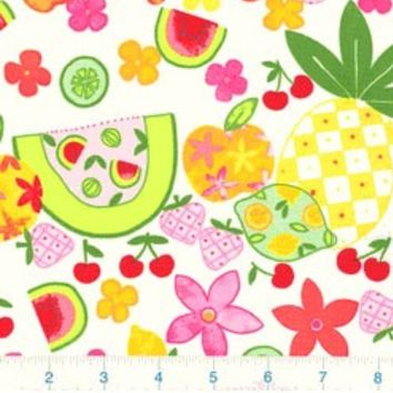 Alexander Henry Fruit Salad Fabric Hard to Find 28 inches LAST