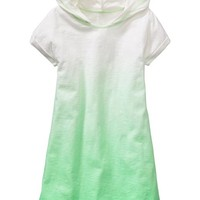 Old Navy Girls Hooded Dip Dye Swim Cover Ups