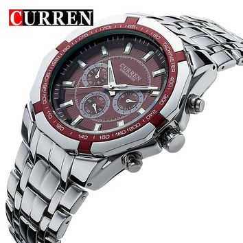 Curren Metal Wrist Dress Watch