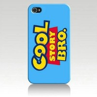 Cool Story Bro Cartoon Hard Case Skin for Iphone 4 4s Iphone4 At&t Sprint Verizon Retail Packing.