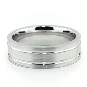 Men's Wedding Band - The Right Track