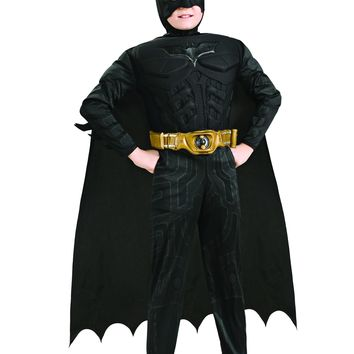 Rubies Dark Knight Muscle Chest Batman Halloween Costume 8-10