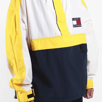 Vintage Tommy Hilfiger Pullover Jacket Sz From F As In Frank