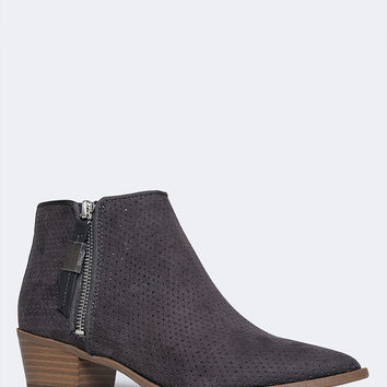 Hunter Low Heel Ankle Bootie