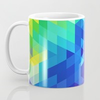 Abstract Colorful Pattern Coffee Mug by tmarchev