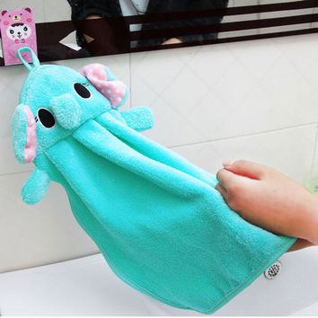Cute Soft Nursery Animal Cartoon Baby Kids Bathrobe Toddler Boy Girl Bath Towel
