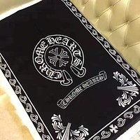 Chrome Hearts Trending Couple Stylish Cashmere Cape Scarf Scarves Shawl Accessories