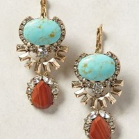 Allina Drops by Samantha Wills Turquoise One Size Earrings