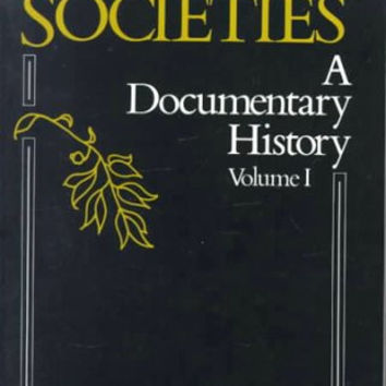 Western Societies, a Documentary History