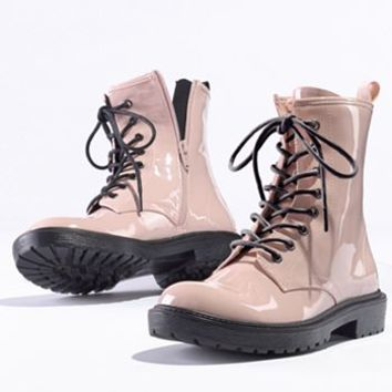 Princess Vera Wang Combat Boots - Women