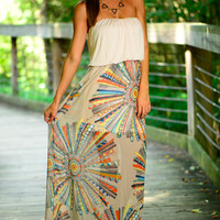 Catching Dreams Maxi, Taupe