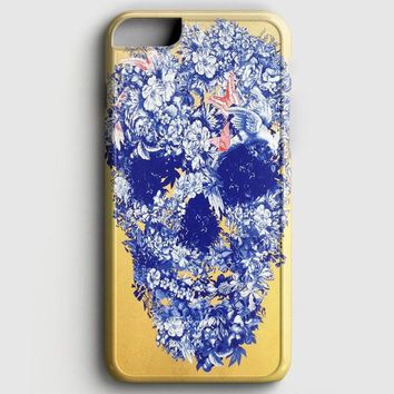 Floral Skull Wall Decal iPhone 6 Plus/6S Plus Case