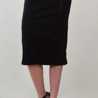 Soft Suede Skirt*
