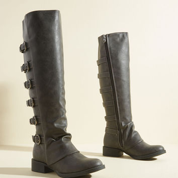 Remarkable Reboot Knee High Boot