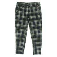 Free People Womens Textured Plaid Ankle Pants