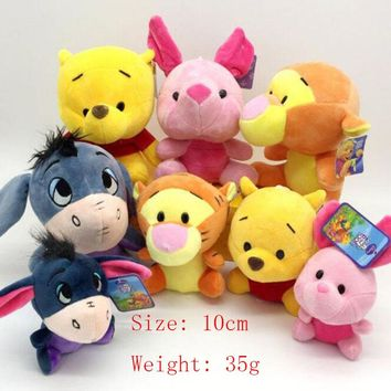 Ty Beanie Boos New Cartoon Plush Toy Pig Yellow Bear Tiger Dolphin Panda Chinchilla Plush Doll Girl Cute Short Plush Animal Gift
