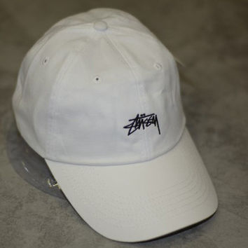 Perfect Stussy Women Men Embroidery Edgy Hip Hop Baseball Cap Hat