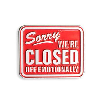 Sorry We're Closed Off Emotionally