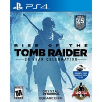 Rise of the Tomb Raider: 20 Year Celebration - PlayStation 4 - Walmart.com