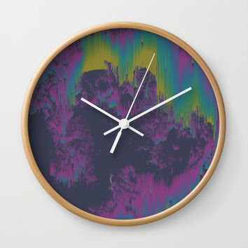Elsewhere Wall Clock by DuckyB